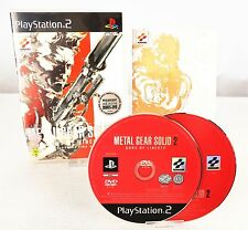 PS2 *Metal Gear Solid 2 - Sons of Liberty* OVP & Anleitung / Playstation 2