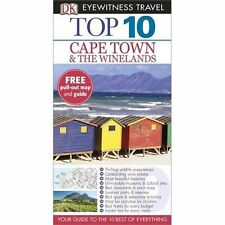 DK Eyewitness Top 10 Travel Guide: Cape Town and the Winelands, Briggs, Philip,
