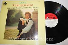 Love Caterina - Valente with Werner muller LP (G) 12""
