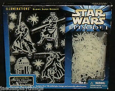 Star Wars Glowing Roof Wall Scenes Hanging Episode I 1999 Heroes Droids