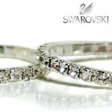 Elegant NEW Stretch Tennis Bracelet with Genuine Swarovski ® Crystal Elements