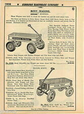 1935 ADVERT Simmons Hi Speed Flying Scout Coaster Wagon Scooter