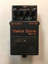 Boss Roland MT-2 Metal Zone Distortion Guitar Effect Pedal