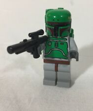 Lego Star Wars Boba Fett Bounty Hunter Slave Mini figure Jet Pack With Gun