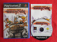 London Taxi Rushour-PlayStation 2 PS2 ~ Completo ~ PAL ~ 3+ simulación/Racing