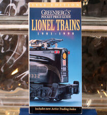 Greenbergs Pocket Price Guide Lionel Trains 1901-1998