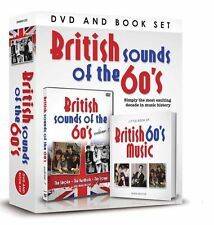 BRITISH SOUNDS OF THE 60s BOOK AND DVD GIFT SET - SMOKE YARDBIRDS TROGGS & MORE