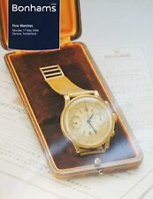 Bonhams, Fine Watches Catalogue: [ 17 MAY 2004 ] Geneva - Switzerland