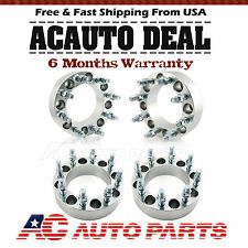 """4 Wheel Spacers Adapters 8x6.5 2""""   9/16"""" Studs for Dodge Ram 2500 3500 W250"""