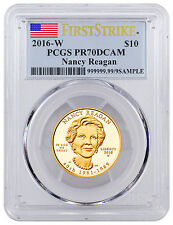 2016-W $10 1/2 Oz PF Gold First Spouse - Nancy Reagan PCGS PR70 DCAM FS SKU41609