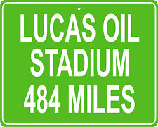 Indianapolis Colts Lucas Oil Stadium in Indianapolis, IN- distance to your house