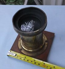 ANTIQUE J H DALLMEYER RAPID RECTILINEAR LENS No.29977 12x10 + 3 WATERHOUSE STOPS
