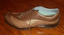 Ariat Montclaire womens brown leather lace up oxford shoes size 9 B
