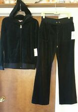 Juicy Couture - BLUE Velour - Track Suit - 2 Piece Set - Size SM - RETAIL - $104