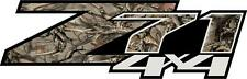 Z71 Chevrolet 4X4 Logo in Antler Camo Decal (Set of 2) *BIG SALE* free ship!