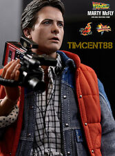 Ready! Hot Toys Sideshow Back To The Future Marty McFly Michael J. Fox Normal