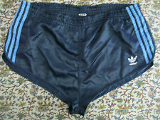 ADIDAS SHORTS Glanz Sprinter Nylon Shiny Racer Retro Vintage Sporthose gay 70S M