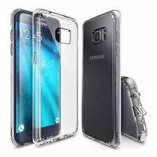 Rearth Case Samsung Galaxy S7 Edge [+Staubsch.] Ringke Fusion Hülle Tasche klar
