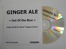 GINGER ALE : OUT OF THE BLUE [ CD PROMO ] ~ PORT GRATUIT