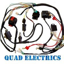 Full Electrics wiring harness CDI coil 110cc 125cc ATV Quad Bike Buggy gokart