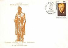 B3389 Entier Postaux Postal Cover Romania Suceava Writer Mihail  front/back scan