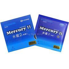 2x Galaxy Mercury II Pips-In Rubber/Sponge Table Tennis