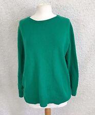 HALOGEN 100% Cashmere Women's 3X Sweater Green Long Sleeve Shirt X21