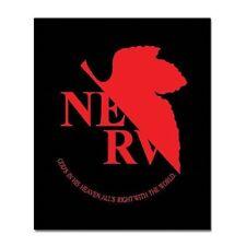 """Evangelion Nerv Symbol Licensed Beach Bath Towel 60"""" x 30"""""""