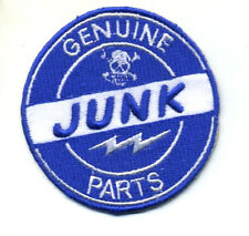 Hot Rod patch Genuine Junk Parts badge Ed Big Daddy Roth Drag Race Old Stock