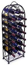 Sorbus Wine Rack Stand Bordeaux Chateau Style - Holds 23 Bottles of Your Favori