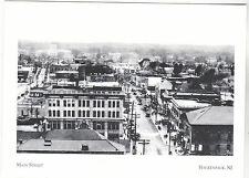 """~Post Card~""""A Bird's-Eye View of Main St"""" -1920's- *Hackensack, New Jersey (#201"""
