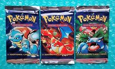 (1) 1999 Pokemon Base Set Booster Pack **Box Fresh** Factory Sealed Mint!