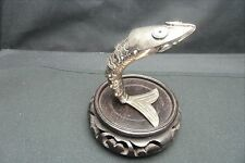 ARTICULATED FISH BOTTLE OPENER….SILVER PLATED FROM MEXICO