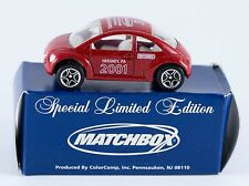 Matchbox Promo 2001 Toy Show Hershey PA Volkswagen VW Concept 1 Beetle Red New