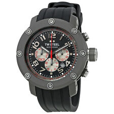 TW Steel Grandeur Tech Chronograph Titanium Colored Dial Mens Watch TW612