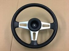 VW GOLF JETTA CADDY MK1 EARLY GTI SWALLOWTAIL WOLFSBURG 3 SPOKE STEERING WHEEL