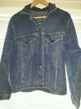 R.I. Clothing Co. Jeans Laundry & Workroom Denim Jacket UK Medium Unisex Adult