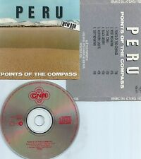 PERU-POINTS OF THE COMPASS-1986-ENGLAND-MADE BY NIMBUS-NEW AGE-VERY RARE-CD-M-