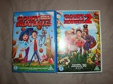 Cloudy with a chance of meatballs 1 and 2 DVD