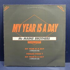 "MAXI 12"" MC MAINS BROTHERS My year is a day . LES IRRESISTIBLES FDP 022 PROMO"
