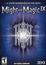 MIGHT AND MAGIC IX (2002) PC CD-ROM NEW & FACTORY