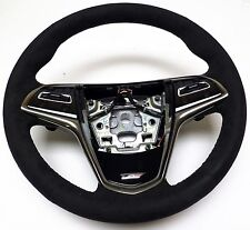 Genuine Steering Wheel Black Suede High Performance Cadillac Sport ATS-V - VS