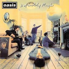 Oasis - Definitely Maybe - Print Poster & Black Card Frame