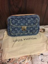 100% Authentic Louis Vuitton Denim Bum BagWaist Pack Limited Edition Marc Jacobs