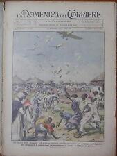 LA DOMENICA DEL CORRIERE 10 novembre 1935 Manifesti Somalia Autobotte Gavirate