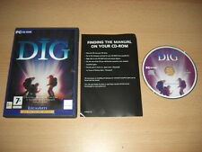 THE DIG Pc Cd Rom LucasArts Classic FAST DISPATCH
