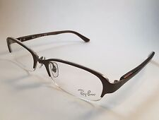 New Auth Ray Ban Transparent Brown Eyeglasses RB8719D 1152 60-11-140 titanium