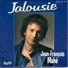 "7"" 45 TOURS FRANCE JEAN-FRANCOIS MAHE ""Jalousie / Laturballe Blues"" 1984"