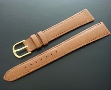 Beautiful Men's 18mm LONG Pigskin Watch Strap/Band