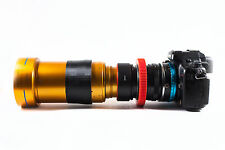 Isco Anamorphic Lens SINGLE FOCUS, Rack Focusing, sharp @ f1/4, DSLR, GH4, etc.
